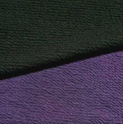 Wavy Effect Stretch Jersey (Thick Ponte) Fabric 4 Way Stretch - Sold By The Uint • 8.78£