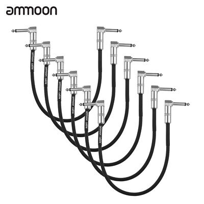 $ CDN35.98 • Buy Ammoon 6-Pack Guitar Effect Pedal Instrument Patch Cable 30cm/ 1.0ft Long H1U6