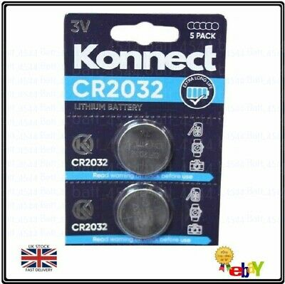 £1.65 • Buy 2 X Batteries For Salter Digital Bathroom Kitchen Weighing Scales CR2032 Battery