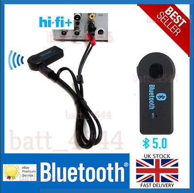 £8.99 • Buy Bluetooth Audio Receiver Adapter For Any Hi-Fi Stereo System Fast Free P&P