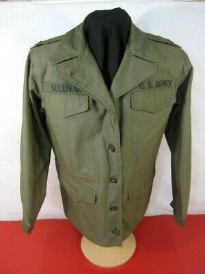 $239.99 • Buy WWII US Army M43 M1943 Women's Cold Weather Field Jacket - Sz 14R - 1944 Dated