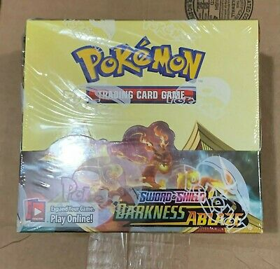 $184.95 • Buy Pokemon Darkness Ablaze Sealed Booster Box In Hand GilbertGames Ship Fast