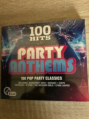 Various Artists-100 Hits - Party Anthems CD NEW • 3.30£
