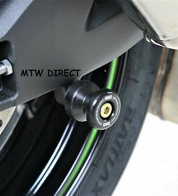 £22.89 • Buy MOTORCYCLE R&G REAR Cotton Reels For Kawasaki  ZX6-R  2007  FOR PADDOCK STANDS