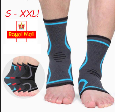 Ankle Plantar Fasciitis Foot Compression Ankle Support Heel, Arch & Ankle • 4.99£