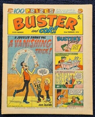 £2 • Buy Buster Comic 1975 February 22nd