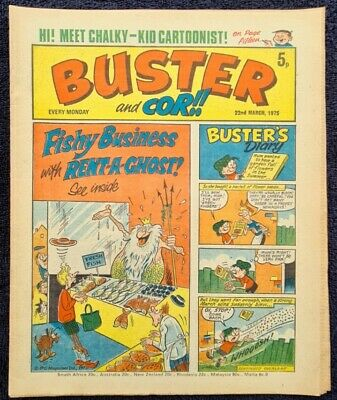 £2 • Buy Buster Comic 1975 March 22nd