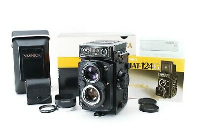 [Mint In Box / Meter Works]Yashica Mat-124G Medium Format TLR Camera From Japan  • 444.49£