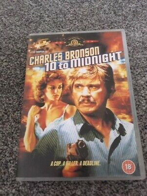 10 TO MIDNIGHT DVD Region 2 Charles Bronson • 9.99£