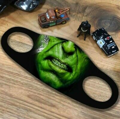 Breathable Washable UK Seller Compatible With The Hulk Unisex Adult Face Mask • 3.25£