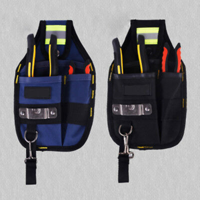 £8.01 • Buy 3 Pocket Roll Up Tool Storage Bag Electrician Tool Belt Utility Pouch Work Tape