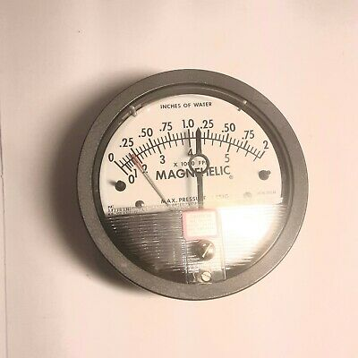 $43 • Buy Dwyer Magnahelic Differential Pressure Gauge Part# W29D, 0 To 15 Psi Max.