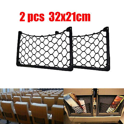 AU20.99 • Buy 2 X Campervan Storage Net/Magazine Net, Side Storage Net/Map Storage, VW T5,T4
