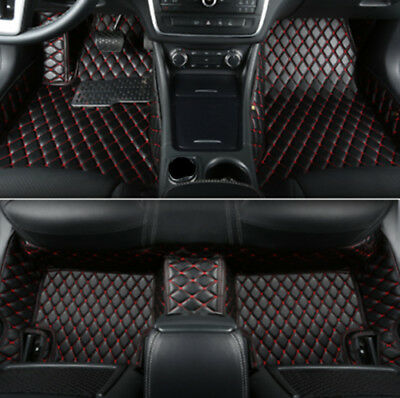 $ CDN92.27 • Buy Fit For Audi Q8 2019-2020 5 Seats Car Floor Mats FloorLiner Carpets Waterproof