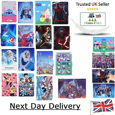 £9.99 • Buy Stitch All Hero Mermaid Tablet Case For Kindle Fire Models 7, HD 8, HD 10 Cover