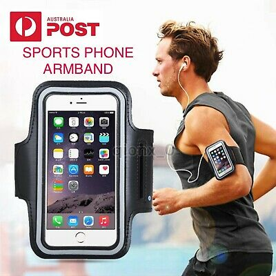 AU6.99 • Buy Pouch Armband Case Sports Gym Running Exercise For Apple IPhone XS XR X 8 7 Plus
