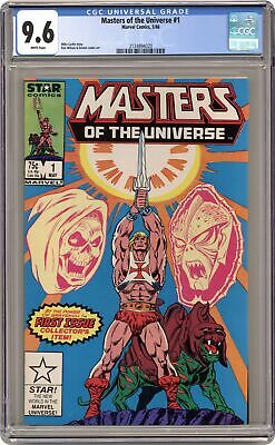 $145 • Buy Masters Of The Universe #1 CGC 9.6 1986 2124894020