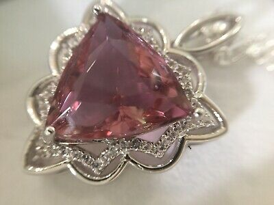 AU200 • Buy Certified Alexandrite 9.8Ct Pendant On 925 Sterling Silver. Exclusive Designer