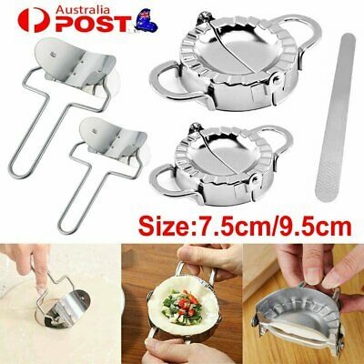 AU19.96 • Buy Dumpling Maker Stainless Steel Dough Press Pie Ravioli Making Mold Mould Tool HG