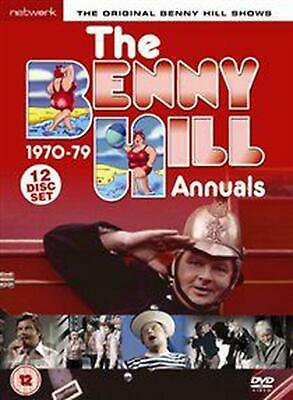 Benny Hill: The Benny Hill Annuals 1970-1979 - DVD Region 2 Free Shipping! • 45.01£