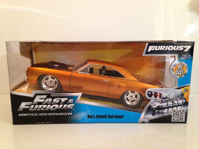 Doms Plymouth Road Runner (1970)  Fast & Furious Jada 97126  • 27.99£