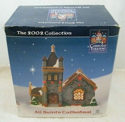 $ CDN49.99 • Buy 2002 Lemax Carole Towne All Saints Cathedral Lighted