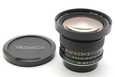 【MINT】YASHICA ML 21mm F/3.5 Wide Angle Lens CONTAX/YASHICA From JAPAN • 329.99£