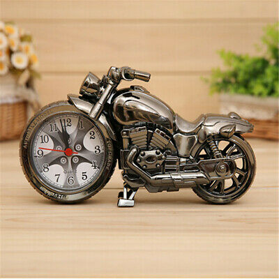 Motorcycle Style Alarm Clock Home Living Room Decoration Cool Fashion Gift • 7.50£