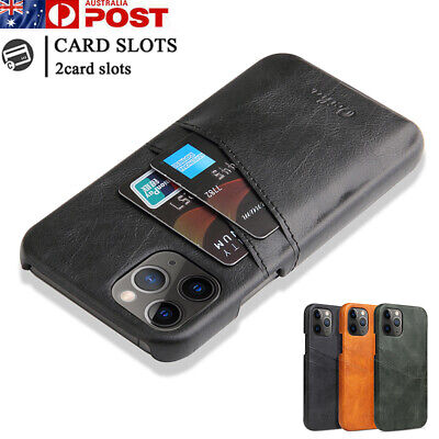 AU13.99 • Buy For IPhone 12 11 Pro Max Mini X/XS XR 8/7/SE Case Leather Wallet Card Back Cover