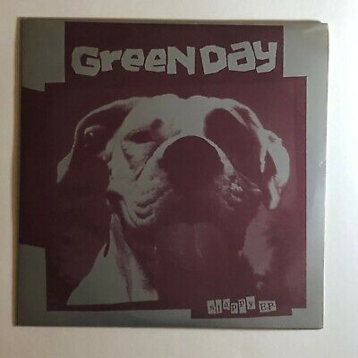 Green Day Slappy EP 7  Black Vinyl 1990 Lookout! Records #35 With Insert • 19.99£