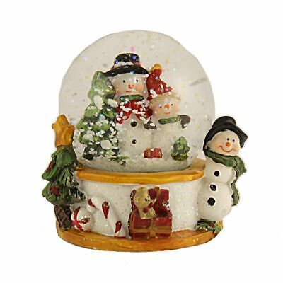 Snow Globe Christmas Glitter Ball Snowman Water Shaker Ornament Decoration  • 6.99£