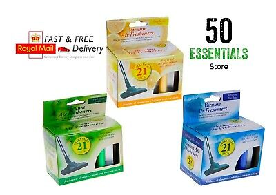 3/6/21 Vacuum Air Fresheners Hoover Dust Bags Filters Cleaner Freshner Vac Scent • 2.08£