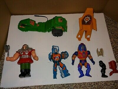 $50 • Buy Vintage 80's MOTU Masters Of The Universe Action Figures,Motorcycle,Accessories
