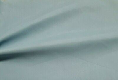 Light Blue Stretch Faux Leather Fabric - Sold By The Metre • 4.29£