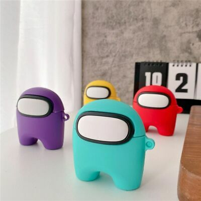 $ CDN5.57 • Buy Among Us Airpod Case 1 2 3/Pro Game Silicone Earphone For Apple Airpods Box Sus