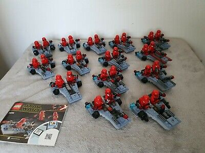 Joblot Lego Star Wars Sith Troopers Battle Pack (75266) X 26 Figures Incomplete  • 21.20£