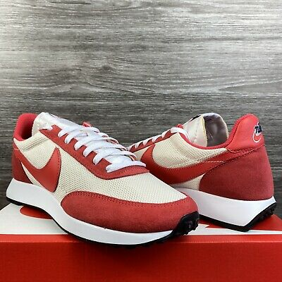 Ds 2020 Nike Air Tailwind Sail Track Red Uk7.5 Eu42 Waffle Racer University Og 1 • 135£