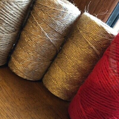 £1.30 • Buy Jute Cord/ Bakers Twine- 2mm Rope/ Cord X 5m- Choose Your Colour
