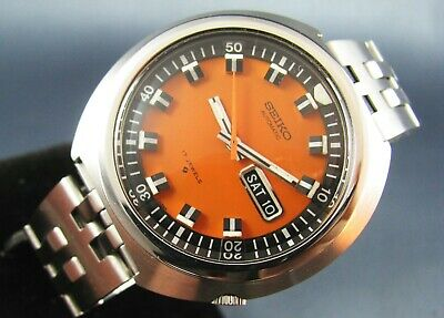 $ CDN1031.55 • Buy Vintage Seiko Orange Monster UFO SS Automatic Diver Mens Watch  17J 6106 7107