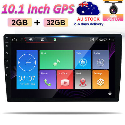 AU193.88 • Buy 10.1 Double 2 DIN Android 10 Car Stereo GPS Head Unit FM/AM Player Car Play 4G