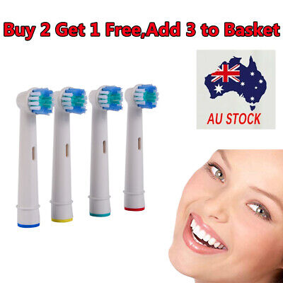 AU4.95 • Buy Electric Toothbrush Heads Oral B Compatible Replacement Brush Precision Clean
