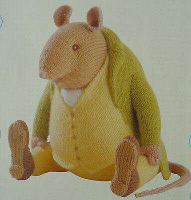 Beatrix Potter Samuel Whiskers Toy Knitting Pattern • 24£