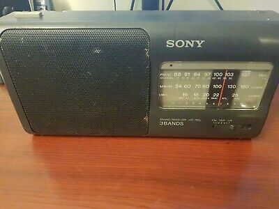 Sony ICF-780L Fm Am Lw Radio , With Mains Lead • 12£