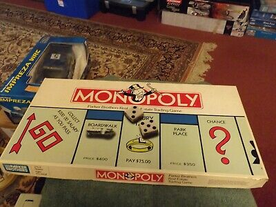 Monopoly USA American Version 1985 Parker Bros. VGC • 4.50£