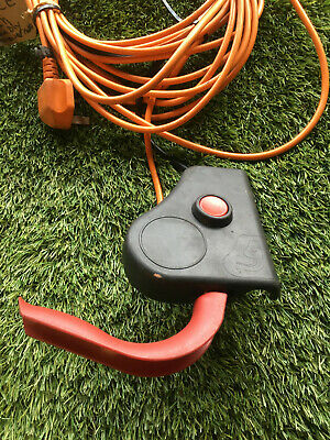 Cobra Cm32e Electric Cylinder Lawnmower Power Switch Assembly Cable • 34.99£