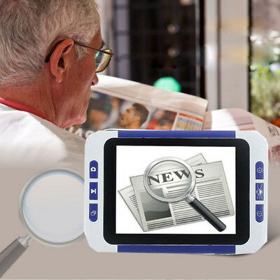 3.5  Color LCD Pocket Electronic Video Magnifier 4 Low Vision Read Aid Device • 56.52£