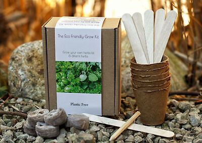 £12.99 • Buy The Eco Friendly Grow Your Own Herb Kit