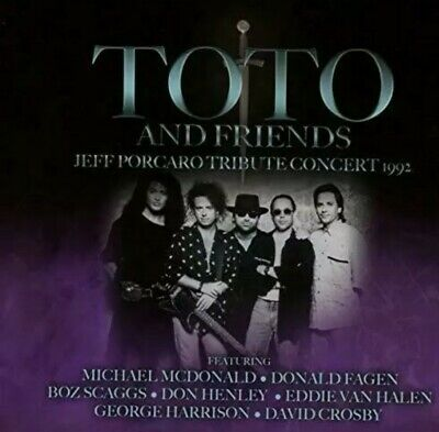 £9.95 • Buy Toto And Friends : Jeff Porcaro Tribute Concert 1992 CD 3 Discs  2019 NEW Sealed