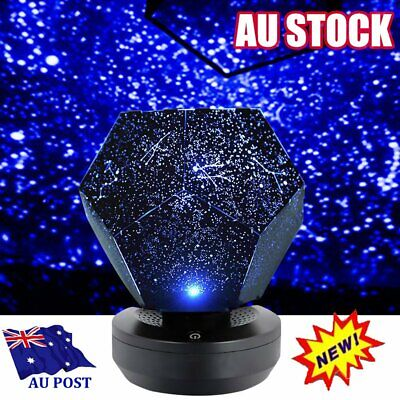 AU24.92 • Buy LED Galaxy Starry Night Light Laser Projector Ocean Star Sky Party Lamp HG