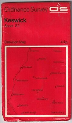 Ordnance Survey One Inch Map: Keswick • 2.95£